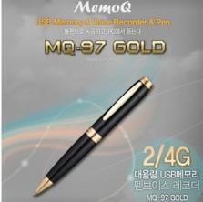 [MQ-97(4GB)] 고급볼펜녹음기 고품격디자인 선물용으로최고 고음질녹음  대기전력제로