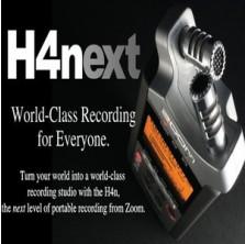 [ZOOM H4NEXT] 전문핸디레코더 4채널 성악성우 색소폰 피아노 기타 악기연주녹음 그룹사운드 공연장 뮤지컬 오디션 뮤지션